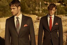 For well-tailored looks, take your style cues from the Stenmark twins.