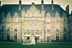 I loved organizing this wedding in a castle near Paris.