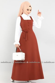 Modest Long Dresses, Prom Dresses Long With Sleeves, Dresses For Work, Islamic Fashion, Muslim Fashion, Modest Fashion Hijab, Fashion Dresses, Baby Girl Dresses, Girl Outfits