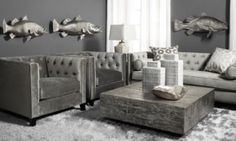 Royce Sofa - Charcoal from Z Gallerie