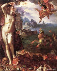 Perseus Rescuing Andromeda