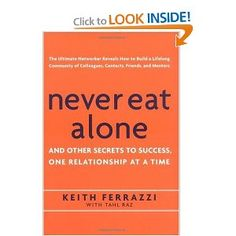 Great book about networking and building relationships