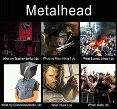 Except I still look dumb when I try headbanging...
