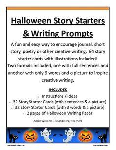 spoooooooky writing ideas for halloween writing ideas journal halloween writing prompts short story or poetry writing