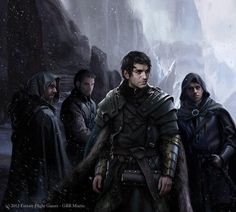 Jon Snow (Magali Villeneuve)