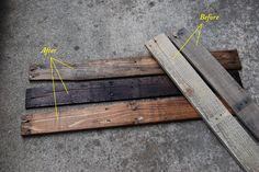 Reclaimed Wood Project: Pallet Coffee Table