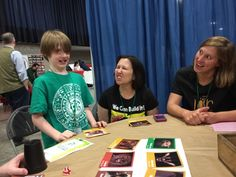 """""""Why the long face?"""" ...Making some faces at Boston FIG"""