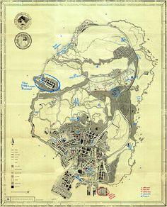 GTA V T.P.E Blueprint Map Secrets - Gamerspective