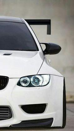BMW E92 M3 GTR white