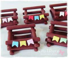 Ateliê Cris Ubara - Biscuit para festas: Arraiá (festa caipira)