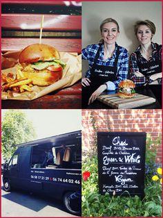 Food truck à domicile, camion restaurant et burger bio à Lens - Food Truck Pauline et Valentine