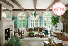Vintage Finds: European Countryside Style