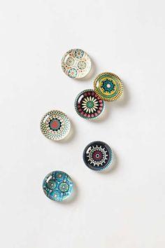 Anthropologie - Glass Sonesta Magnets
