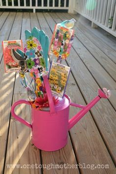 Mother's Day Garden Gift Basket... could also be used for any occasion