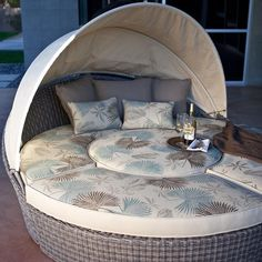 Escapade All-Weather Wicker Sectional Chaise Lounge