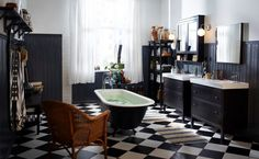 #IKEADreamBedroom  I know this is a bathroom, but i would love to have this tub in my bedroom! I would give up my closet for it!! https://fbcdn-sphotos-g-a.akamaihd.net/hphotos-ak-prn1/549273_10151382631583434_230803060_n.jpg