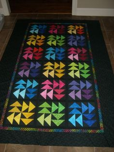 Twisted Ribbon Quilt Kit At Bright Hopes Quilting Quilt