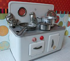Vintage Efzet German DDR metal toy by DollEnthousiastHome on Etsy, €65.00