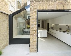 How to add a single storey extension - House extension design - Single Storey Extension, Side Extension, Glass Extension, Patio Extension Ideas, Extension Google, House Extension Design, Extension Designs, House Extension Plans, Victorian Terrace