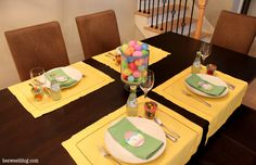 Party Perfect Easter Table #2berrycreative #washitape