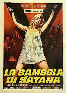 The Doll of Satan Horror Movie Posters, Pulp Fiction, Science Fiction, Film Structure, Sci Fi Horror, Sexy Horror, Horror Films, Classic Horror Movies, Vintage Horror