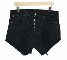 Vintage Levi's Cut Offs in Black - Size 32 for $22.50