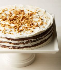 Make this S'more Icebox Cake for National S'more Day!