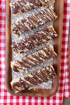 Muslibar med nøtter, kokos og sjokolade - LINDASTUHAUG