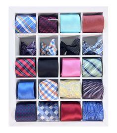 30, Tie storage box, Neck Tie Organizer, Tie Hanger ...