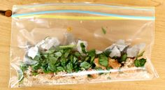 Learn about compost by doing it on a tiny scale with this sandwich bag compost science experiment.