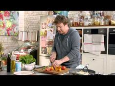 S01E22 Jamies 15 Minute Meals.Lamb.Tagine.and.Chicken.Caesar.Salad.mkv - YouTube gourmet ingredient: saffron.