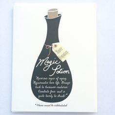 Magic Potion Birthday Card