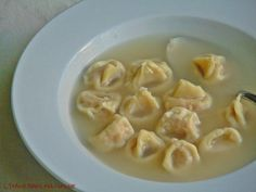 Tortellini au bouillon / Tortellini in brodo