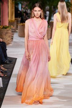 Oscar de la Renta Spring 2020 Ready-to-Wear Fashion Show - Vogue Fashion Weeks, Fashion 2020, Runway Fashion, Spring Fashion, High Fashion, Fashion Show, Fashion Design, Review Fashion, Style Fashion