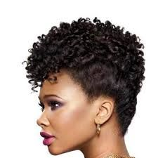 Mohawk with Crochet Braids Shared By Tracey Crochet