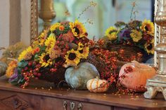 Fall Florals picture from Victoria Magazine