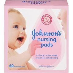 Johnson's Nursing Pads, 60ct