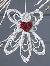 Delicate Angel Ornament Pattern