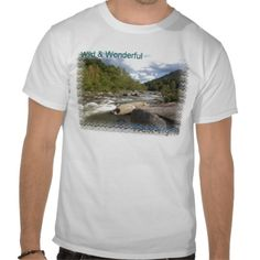 Rustic #West #Virginia #River Tee Shirts #dww25921