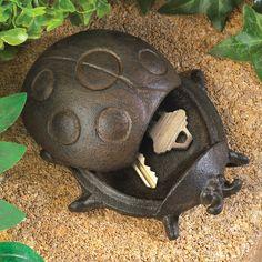 Cast Iron Ladybug Key Holder