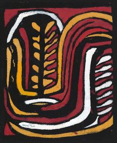 An image of Aboriginal glyph by Margaret Preston Margaret Rose, Margaret Preston, Australian Painters, Australian Artists, Art Eras, Woodcut Art, Classical Realism, Glyphs, Types Of Art