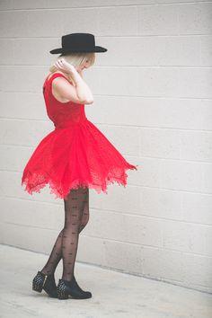 Kelli from Kelli Murphy Design in the Madrid Wool Hat