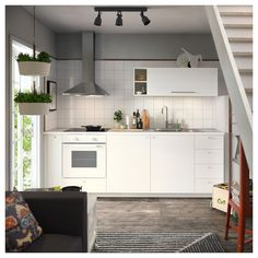 LILLTRÄSK Countertop, white, laminate, Spills and grease are easy to wipe clean and the countertop retains its beauty over time. Kitchen Buffet, Rustic Kitchen, Kitchen Decor, Kitchen Design, Kitchen Ideas, Laminate Countertops, Kitchen Countertops, Small Space Kitchen, Small Spaces