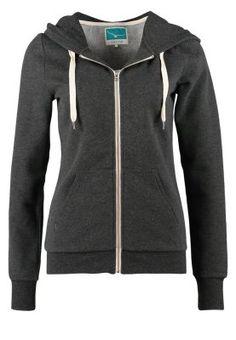 Sweat zippé - dark grey melange