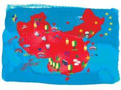 Emilie Sarnel - Map of China