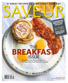 Penny De Los Santos' first magazine   cover  Saveur 2009