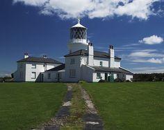 Caldey Island Lighthouse by paul2210, via Flickr