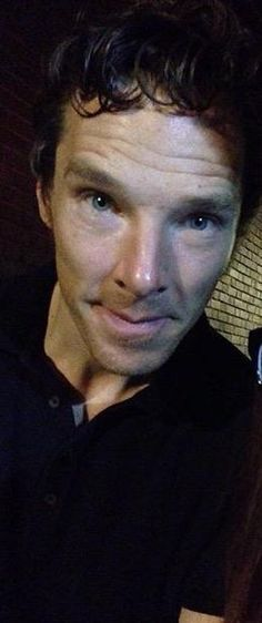 Ben at Hamlet stage door - 19th September 2015 - the day before we saw him!