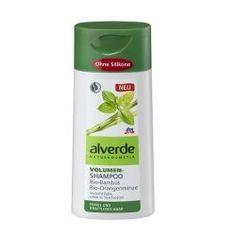 Šampony Alverde Šampon pro objem vlasů s bambusem a mátou