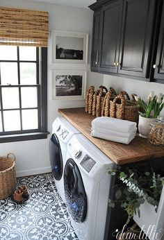 Our Laundry Room Makeover